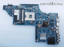 Free shipping,665345-001 for HP DV6 DV6T-6B DV6-6000 Laptop motherboard HM65 DUO U2 -UMA.100% fully tested !!!