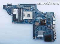 Free shipping,665345-001 for HP DV6 DV6T-6B DV6-6000 Laptop motherboard HM65 DUO U2 -UMA.100% fully tested !!!