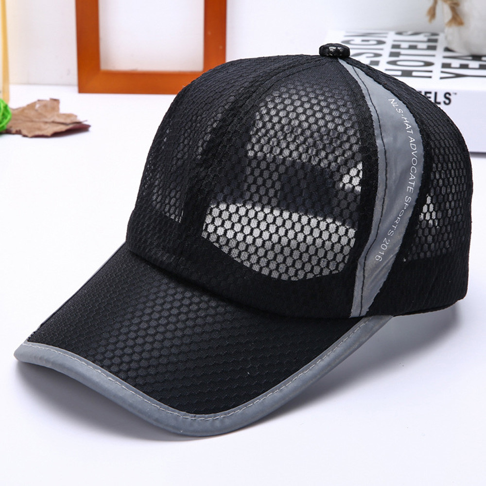 Summer Breathable Mesh   Baseball     Cap   gorras para hombre men's   cap   Sport Hats Woman Bonnet Femme casquette homme