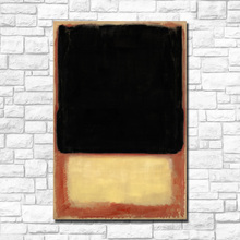 Large Size Wall Art Abstract Mark Rothko Canvas Painting For Living Room Home Decor Oil On