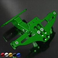 For YAMAHA MT07 FZ07 MT 07 MT 09 MT 09 R1 R6 R3 CNC Fender Eliminator Registration Plate Bracket License Plate Holder led Light