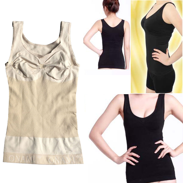 bc20bd1d03440 Fashion Slimming Bust up Body shaper Tummy Fat Control Camisole Tank Top 2  Colors JL