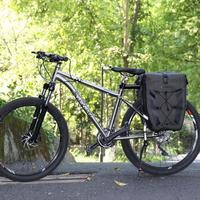 27L Cycling Bike Bags MTB Bike Rear Rack Bag Full Waterproof Multifunction Road Bicycle Pannier Rear Seat Trunk Bag