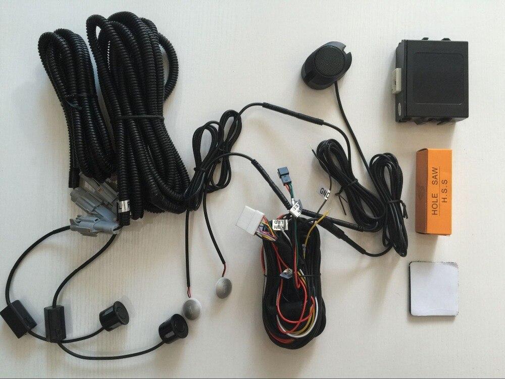 Auto corsia detector parcheggio assistente HA CONDOTTO LA Luce di Allarme Acustico di Avvertimento di Guida Sicura blind spot detector per tutti 12 V auto styling - 2