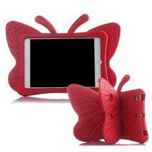 цены на SIBAINA EVA Shockproof Case for iPad 2 3 4 Cartoon 3D Butterfly Stand Table Cover Case for iPad 2 Kids Safe Cases fundas A1430 в интернет-магазинах
