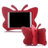 Odporny Na Wstrząsy EVA Case for iPad 2/3/4 Cartoon 3D Motyl Stand Tabeli Pokrywy dla iPad 2 Dzieci Bezpieczne Przypadki fundas A1430