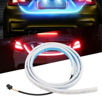 45 Strip Tail Light Bar Car Running Brake Reverse Turn Signal Lamp Dynamic Streamer For Ford