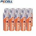 10 X PKCELL батарейка АА батарея Ni-Zn В 1,6 в 2500mWh никель-Цинк AA аккумуляторные батареи Baterias - фото