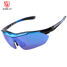 WHEEL UP New UV400 Sport Sunglasses Men Polarized Cycling Glasses Waterproof Full Coating MTB Road Unique Outdoor Bike Eyewear