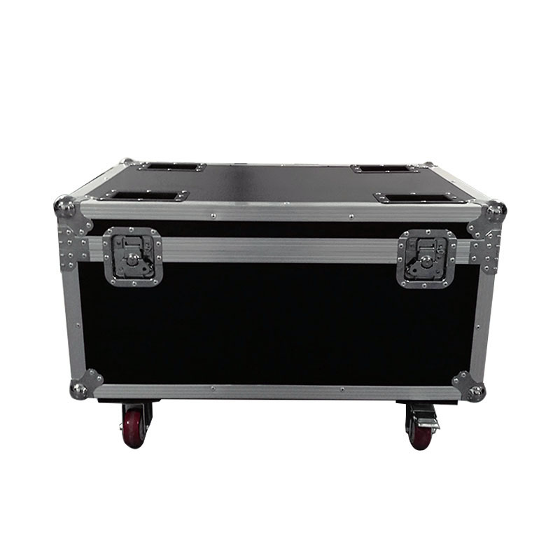 Flight Case 6 Pieces 100W COB Light LED Aluminum Alloy Par Lighting For Disco Party TV Studio Show