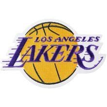 low priced 3706b b3c2e 2018 Los Angeles Lakers Logo LeBron James Maglie pantaloncini Ferro Sul  Basket Toppe e Stemmi(