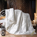 SINONICS 100% Silk Comforter Filler Summer Winter Silk Quilt Duvet Mulberry Comforter Silk Blanket Comforters King Queen Size
