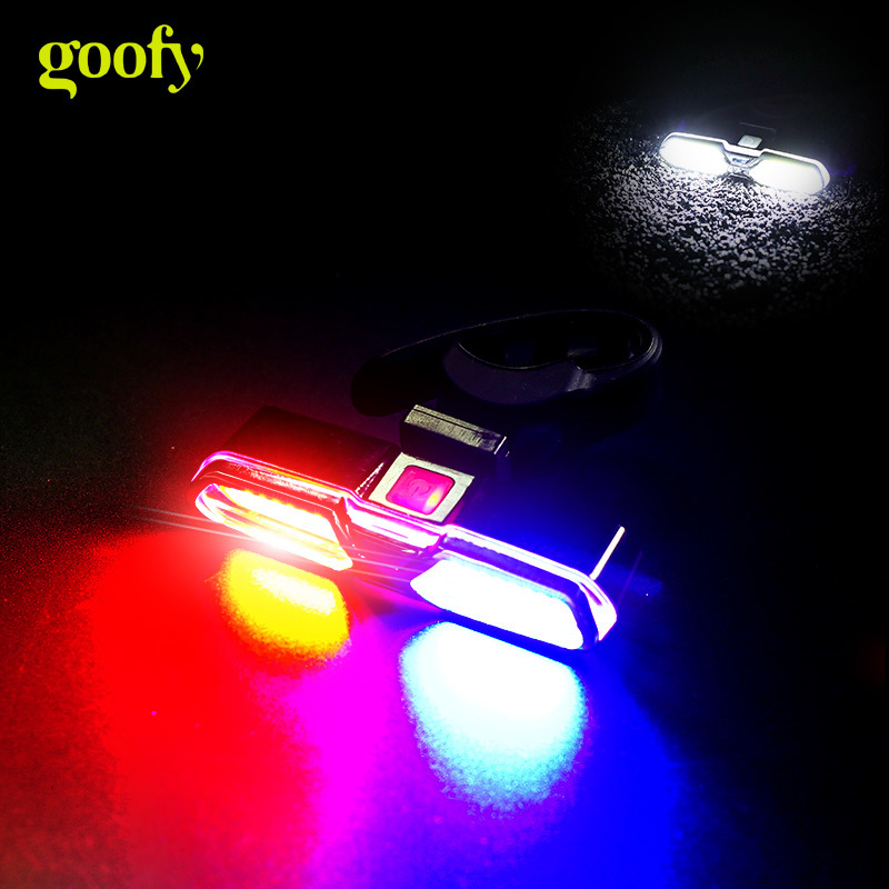 Biycle Tail Light USB Rechargeable Warning Safety Rear Light LED Bicycle Light Cycling Flash Lamp MTB Road Bike Taillight