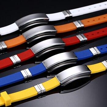 Engraved Medical Alert ID Bracelet Bangle Colour Silicone Strap 2