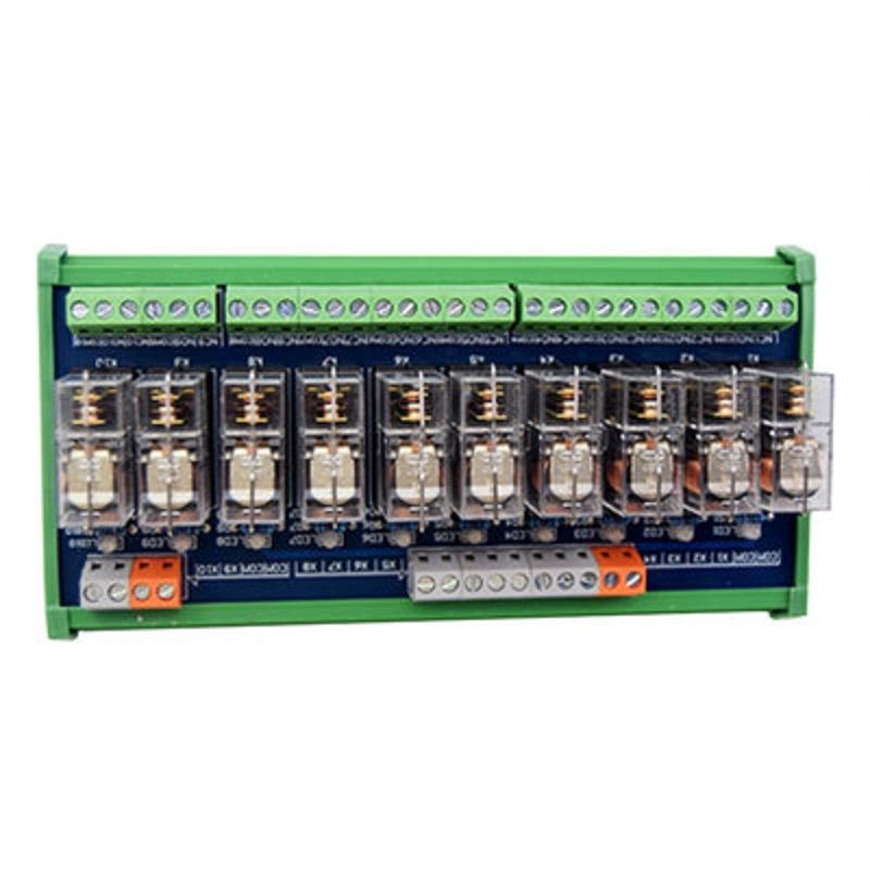 10-way relay module omron OMRON multi-channel solid state relay plc amplifier board ac 0 250v 16 channel relay module silicon controlled plc output amplifier board