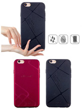 Dower Me Chequer Matte Frosted Soft PU Case For iPhone 6 6S Plus 5 SE Samsung