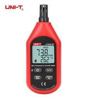 UNI T UT333BT Bluetooth Digital Air Temperature Humidity Meter Mini LCD Thermometer Hygrometer Gauge Tester Moisture