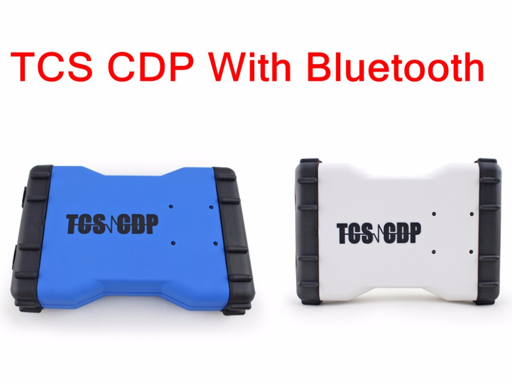 2017 New Arrival  TCS CDP  for Cars/Trucks and OBD2 Newest  Version 2015.3 with bluetooth by dhl Freeshipping new arrival new vci cdp with best chip pcb board 3 0 version vd tcs cdp pro plus bluetooth for obd2 obdii cars and trucks