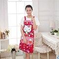 Хлопковый женский фартук с креативным принтом  забавный Кухонный Фартук с карманом  горячие бытовые чистящие аксессуары  кухонный фартук