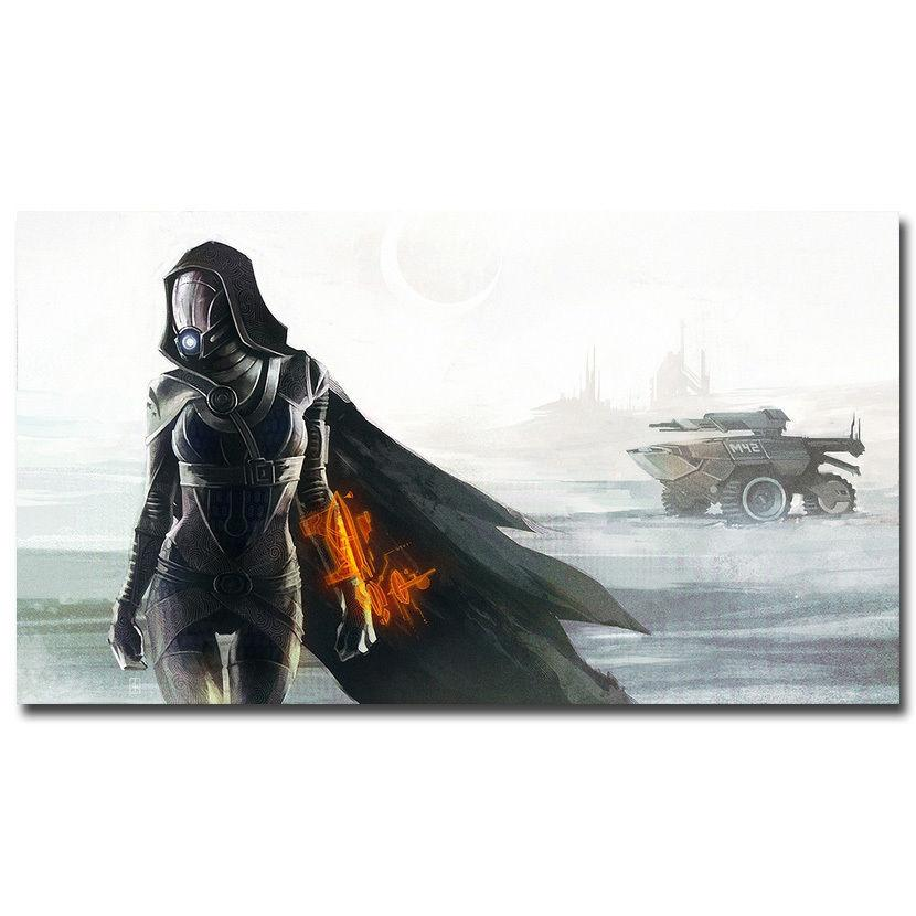 1224A Mass Effect 4 Hot Shooting Game-Wall Sticker Silk Poster Light Canvas Decoration(China)