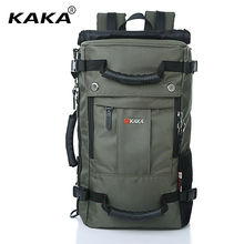 "KAKA Brand Designer Laptop Backpack Men Messenger 17"" Computer Casual Shoulder Bag Functional Women Travel Versatile Luggage Bag"