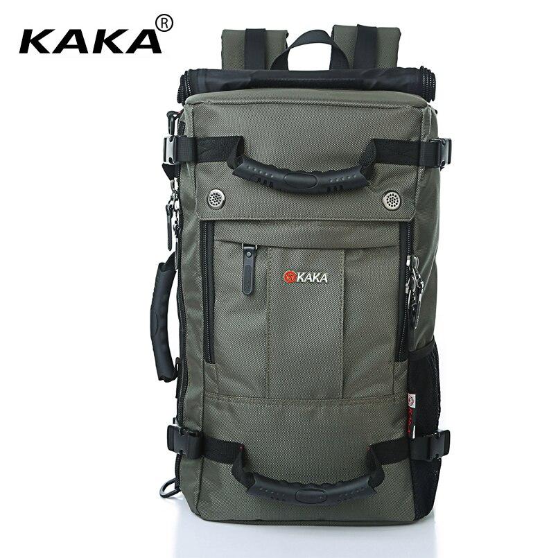 cc4ad23f08cb KAKA Brand Designer Laptop Backpack Men Messenger 17
