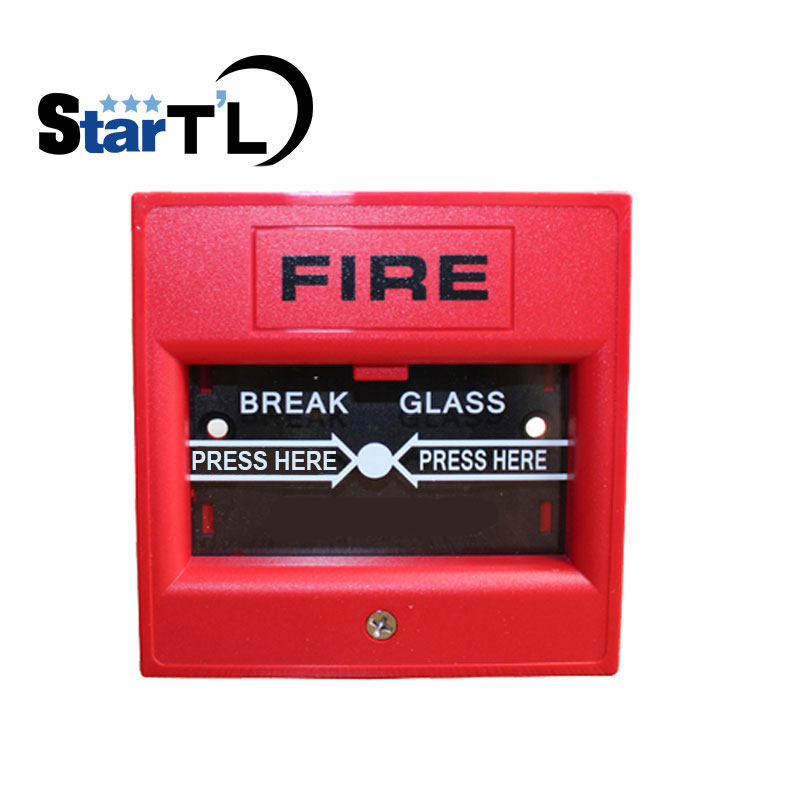 Fire Emergency Break Glass Fire Alarm Emergency Door