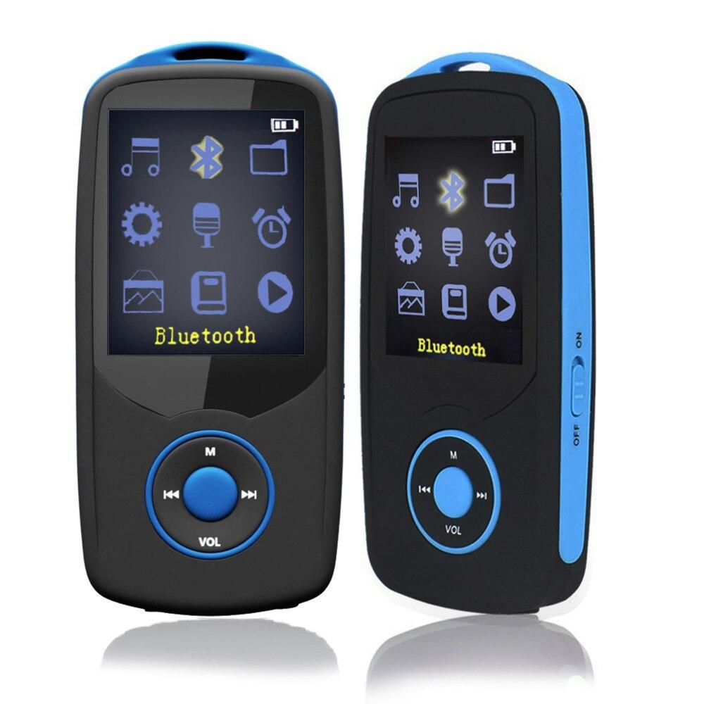 Original 16GB MP4 Player Bluetooth Music Player Video Play Voice Recording FM Recorder Christmas Gift RUIZU X06 16GB