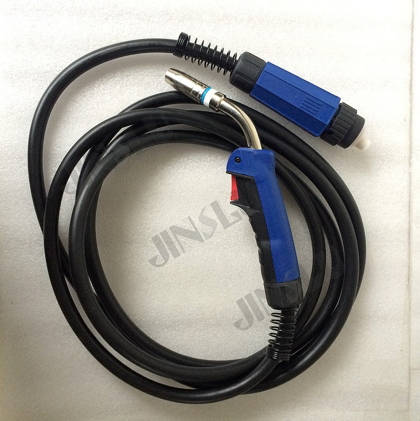 MB 25AK CO2 Binzel Type MIG Torch 5M Cable and Euro Connector