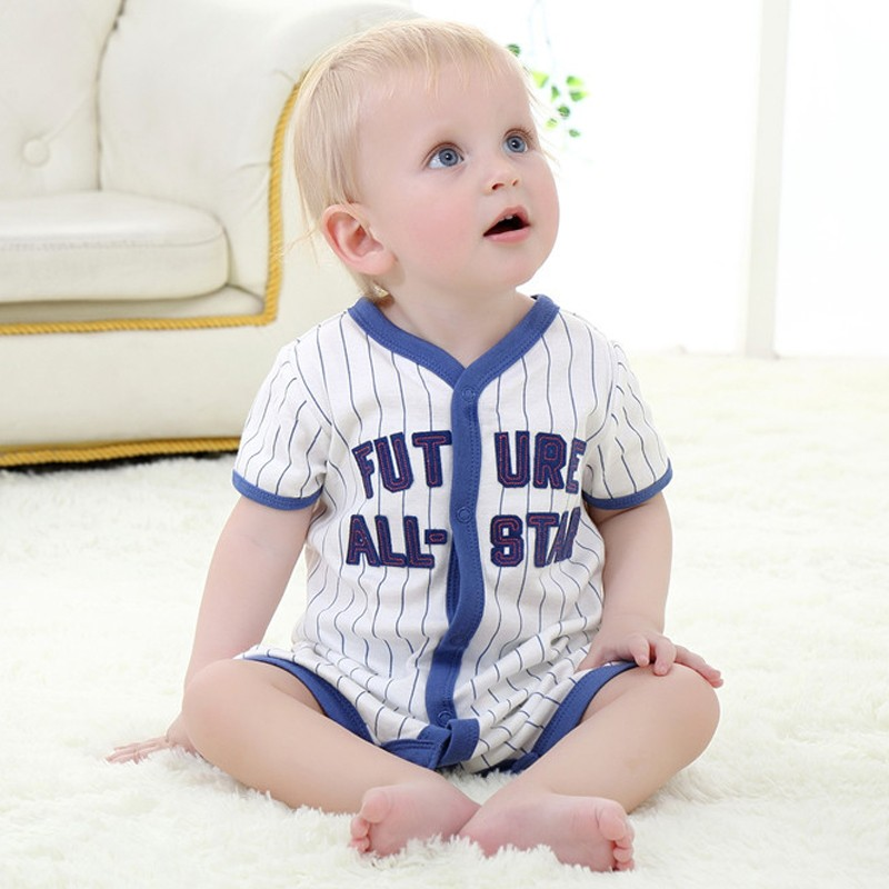 Baby-Boy-Girl-Romper-Summer-Newborn-Baby-Clothes-Toddler-Cute-Casual-Clothing-Infant-Short-Sleeve-T