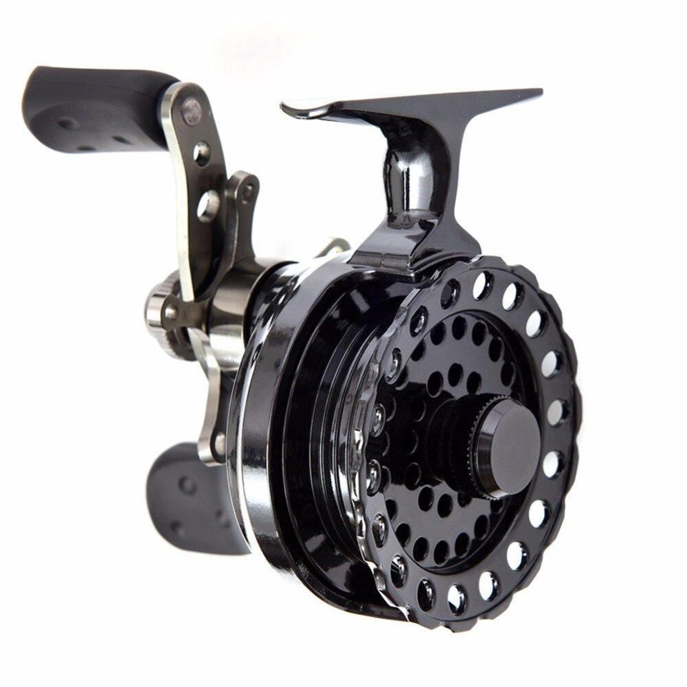 DSstyles High Foot Raft Fly Fishing Reel 4+1BB Ball Bearing automatic cable reels B60v raft wheel raft rod stem wheel micro lead