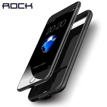 ROCK Rechargeable Power case for iPhone 7 7 plus, Ultra Slim External Backup Charger Protective Battery Power Case 2000/2800mAh