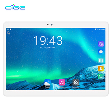 2.5D Glass Screen 10.1 inch 3G Tablet PC Ocat Core 4GB RAM 32GB 64GB ROM Dual SIM Card Android 7.0 Smart tablets PCs 10
