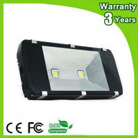 (12PCS/Lot) Epistar Chip 3 Years Warranty IP65 Waterproof 200W LED Floodlight LED Flood Light Tunnel Lighting Outdoor Spot Bulb