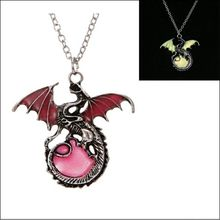 Ancient Dragon Glow in the Dark necklace