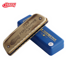 10 blues harmonica huang harmonica C shipform,free shipping 10 hole beginners blues harmonica