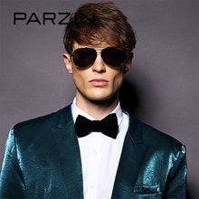 PARZIN Brand Men's Sunglasses Aviator Polarized Driving Frog Sun Glasses High Quality Alloy Frame Pilot Glasses Accessories