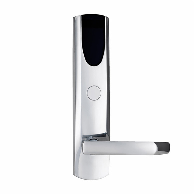 Electronic Rfid Card Door Lock With Key Electric Lock For Home Hotel