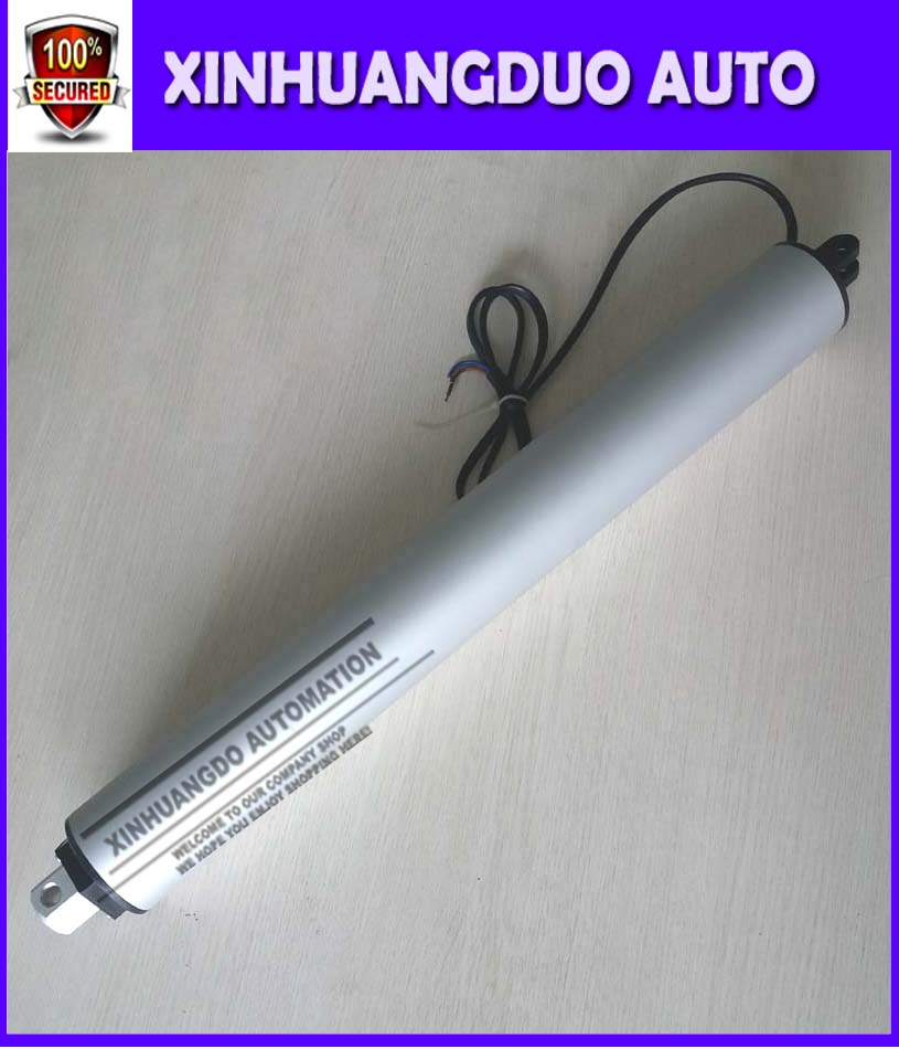 400 mm stroke DC12V/24V/ 230mm/s speed ,50N-200N Coaxial  pen type electric putter, electric linear actuator, Electric putter400 mm stroke DC12V/24V/ 230mm/s speed ,50N-200N Coaxial  pen type electric putter, electric linear actuator, Electric putter