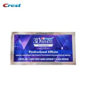 Image 3 - Crest 3D White LUXE Whitestrips Teeth Whitening 1 Boxes=20 Pouches/40Strips Original Professional Effects Dental Oral Hygiene