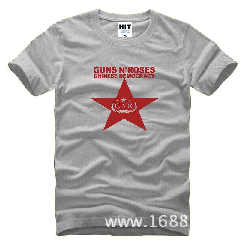 Rock Guns N Roses slash Mens Men T Shirt Tshirt Fashion 2015 New Short Sleeve O Neck Cotton T-shirt Tee Camisetas Hombre