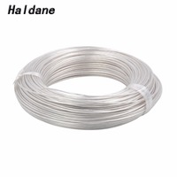 Free Shipping Haldane 100Meter 0.12mm 0.12square Silver Plated 7N OCC Signal Tefl Wire Cable for DIY Headphone cable