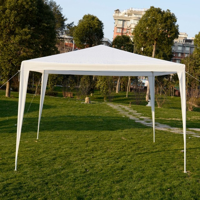 10x10 Canopy Party Wedding Tent Heavy Duty Gazebo Pavilion Cater Event Outdoor AP2017WH