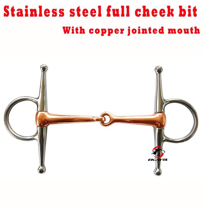 Нержавеющая сталь полный щеки немного, медь соединены рот, никогда не ржавые. Лошадь продукт(BT0602CU