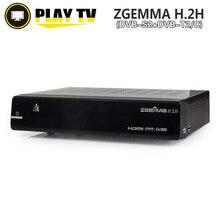 5 Unids ZGEMMA H.2H Híbrida DVB-T2 TV Satélite Caja Del Receptor DVB-S2/C Enigma2 Linux OS 2000 DMIPS Procesador CPU BCM7362