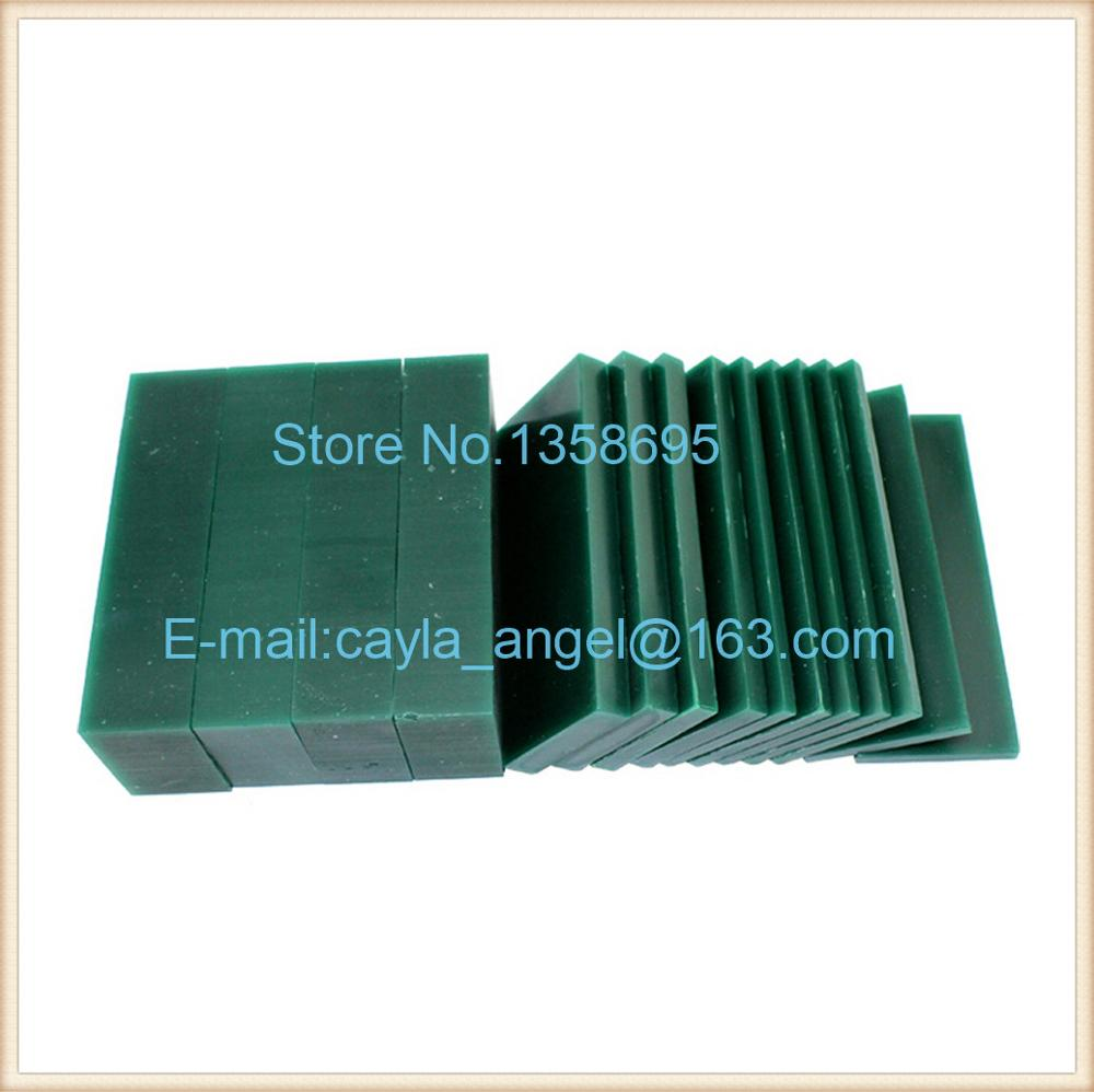 Carving wax Based Wax Sculpture A beginner Carving Up the board practice tool Green wax to 15/14 Pieces for Box цена
