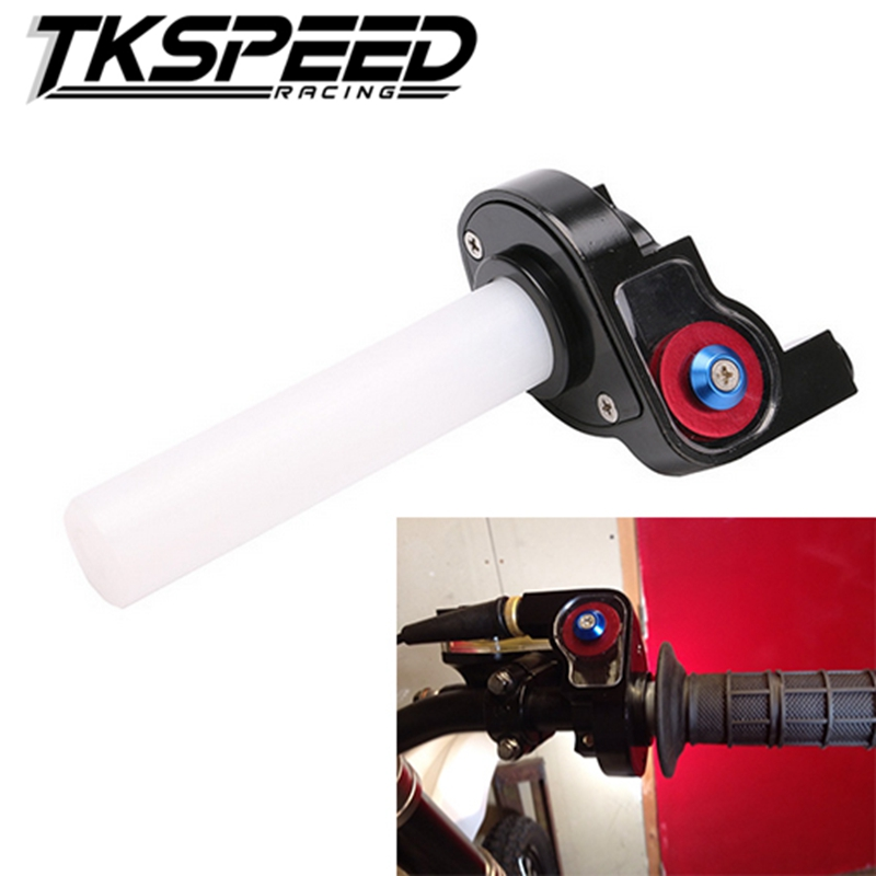 Free Shipping Motorcycle Parts Visual Throttle Grips Settle & Twist Gas Throttle Handle Dirt Pit Bikes ATV GPX SDG