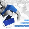 1 pc suporte de ombro bandagem elástica Fita Esportes Respirável Proteção Ombro SCR Protetor de Ombro Único