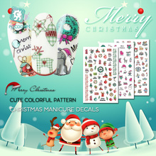 Get more info on the New Christmas Day Nail Art Stickers 3D Nail Art Decoration Self-adhesive Tip Stickers Cartoon Nail Stickers For Children