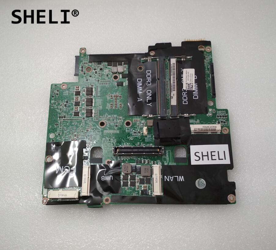 SHELI For Dell M6500 Motherboard DA0XM2MBAG1 CN-0YN4HK 0YN4HK YN4HK with 2 memory slotsSHELI For Dell M6500 Motherboard DA0XM2MBAG1 CN-0YN4HK 0YN4HK YN4HK with 2 memory slots